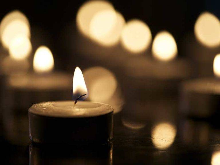 Candles and bokeh